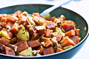 HEALTHY EATING |Lime Roasted Sweet Potato Hash Recipe