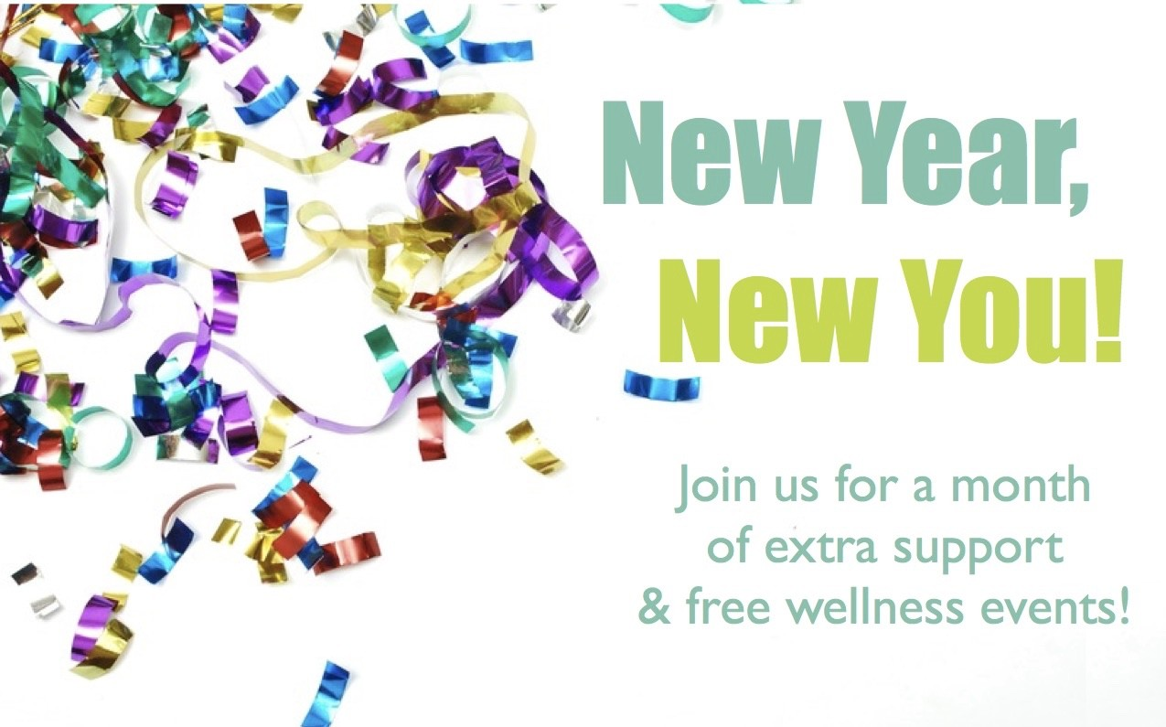 "Join us for a ""New Year, New You!"" 