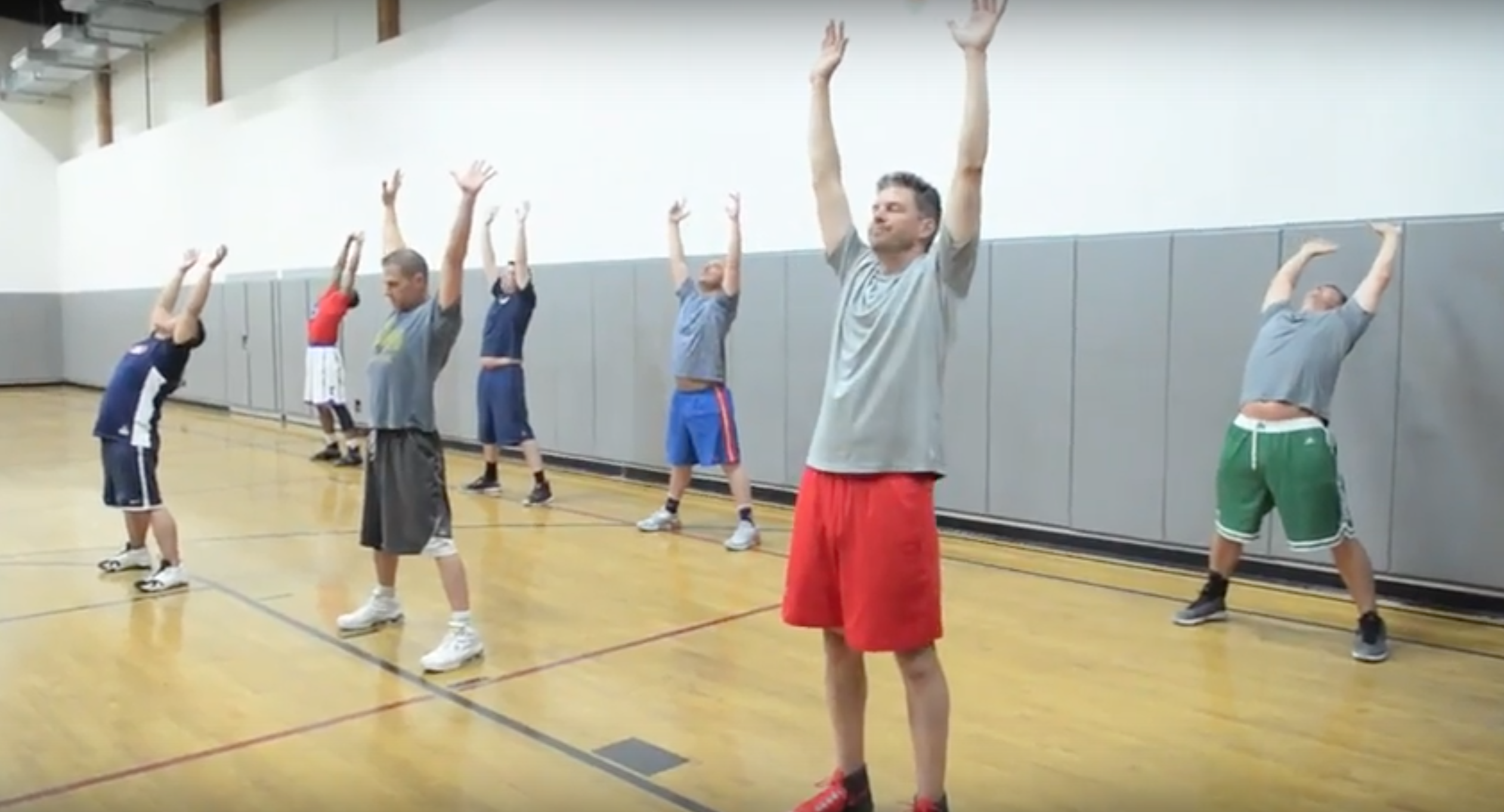 Dynamic Basketball Warmup with HoopsLink