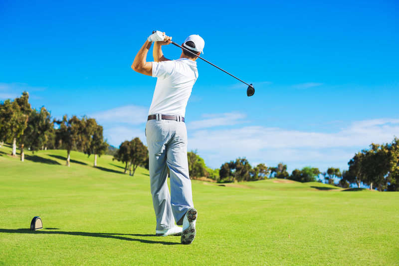 Improve Your Golf Swing, Save Your Back
