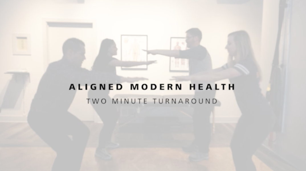 Two Minute Turnaround | Healthy Desk Exercises