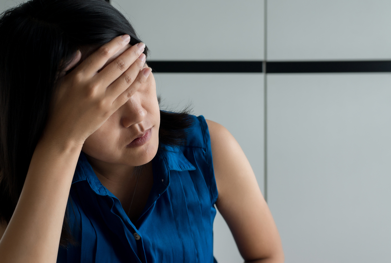 Support for headache and migraine relief