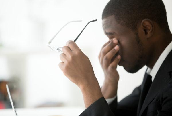 business man fatigue
